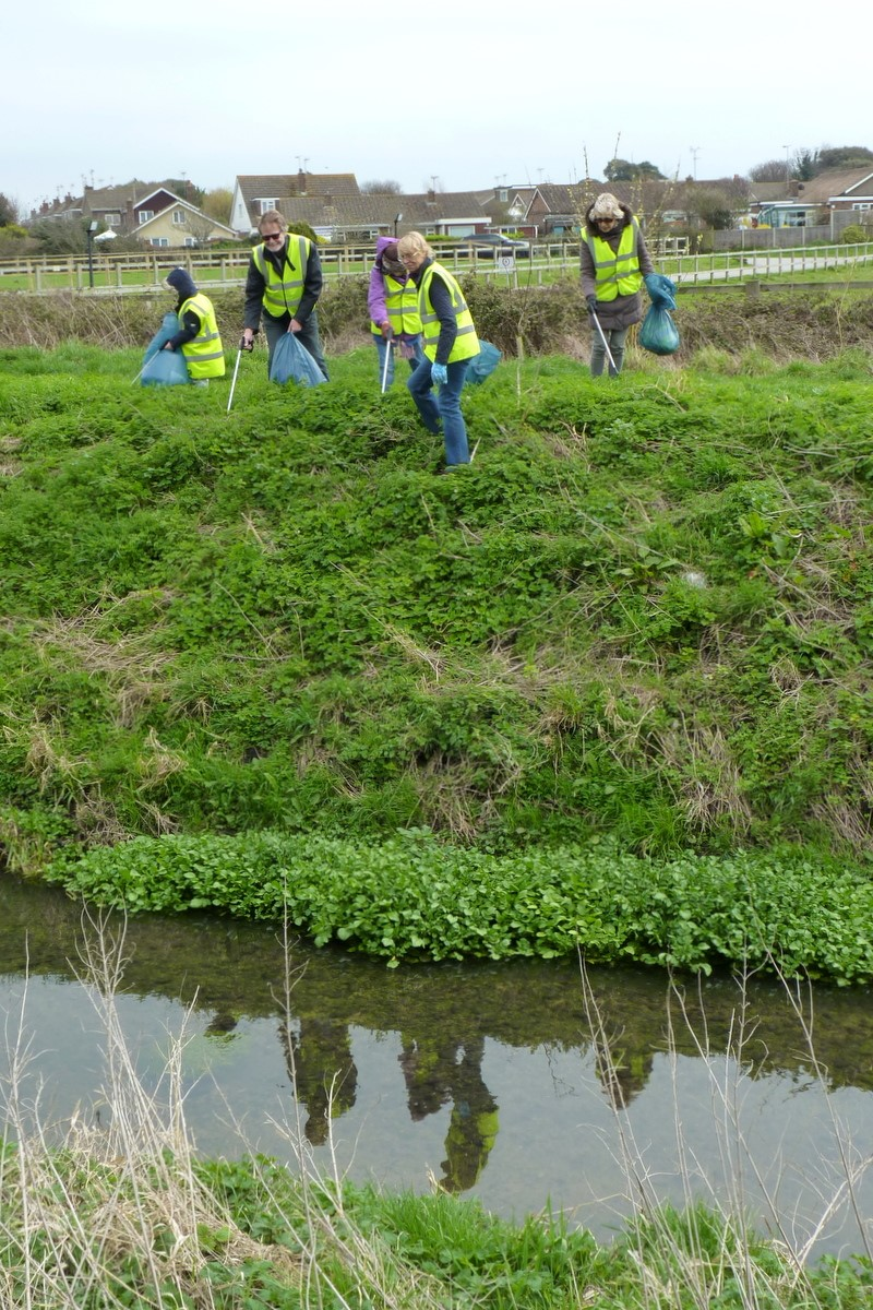 FCG's Clean Up of the Rife | Ferring Conservation Group